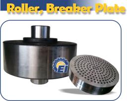 roller and breaker plate